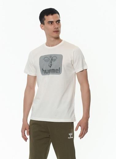 Hummel Erkek Tişört Oal 911177-9973 Beyaz
